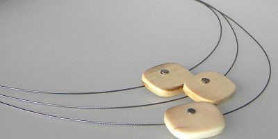 543 - Fossil Necklace