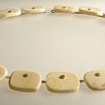 550 - Fossil Walrus Necklace