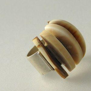 791 - Regular Fossil Ring