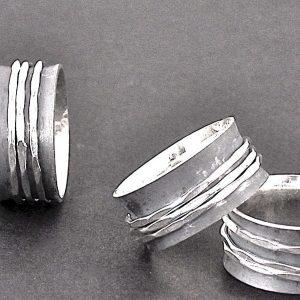808 - Triple Band Ring