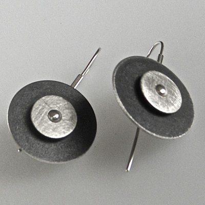 835 - Double Circle Earrings