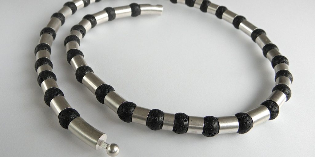 889 - With Lava Necklace