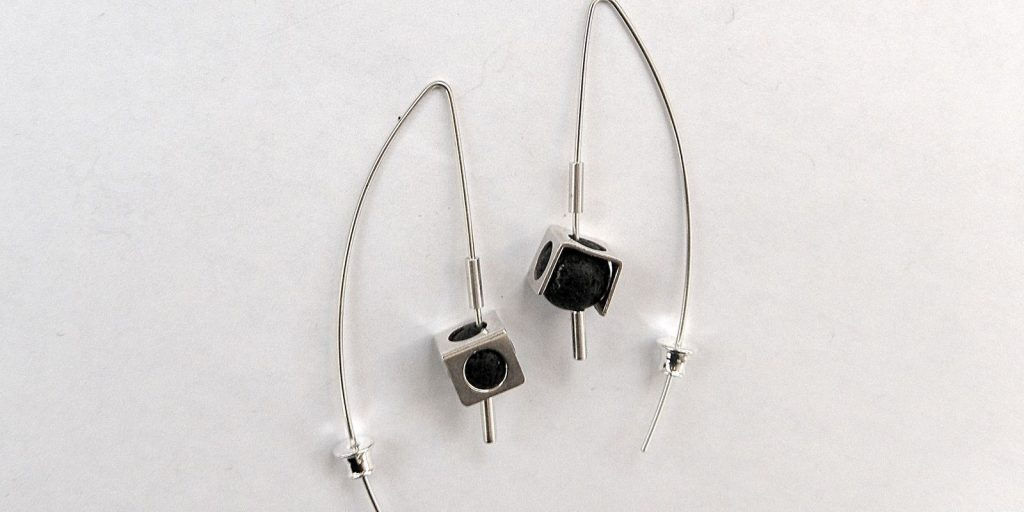 939 - With Lava Earrings