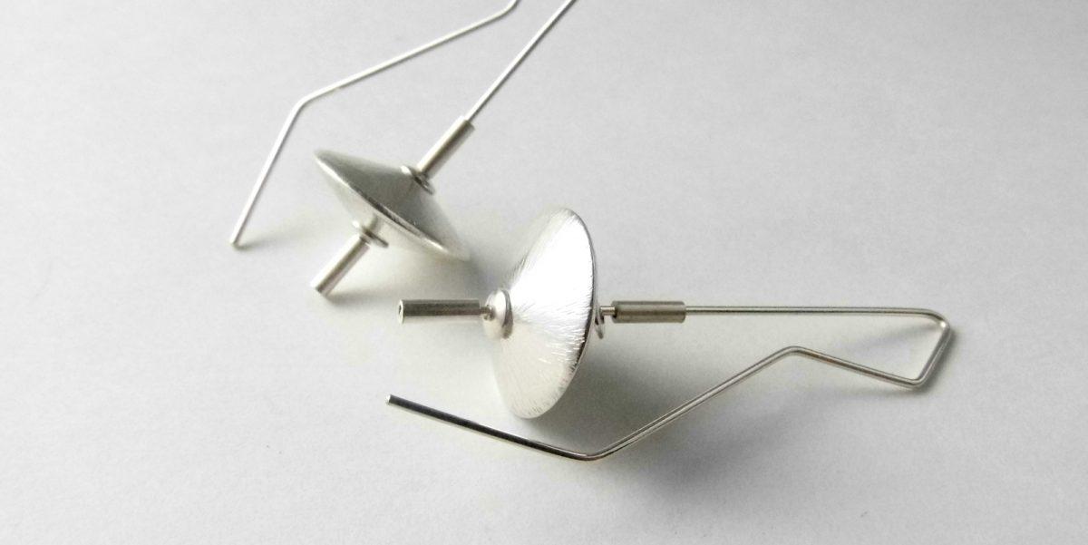 326 Sphere Disc Earrings