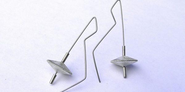 326 - Sphere Disc Earrings