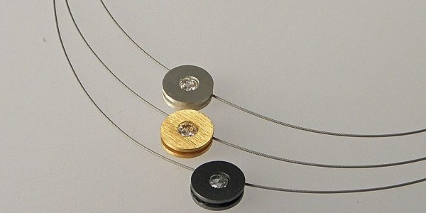 595 - Triple CZ Necklace