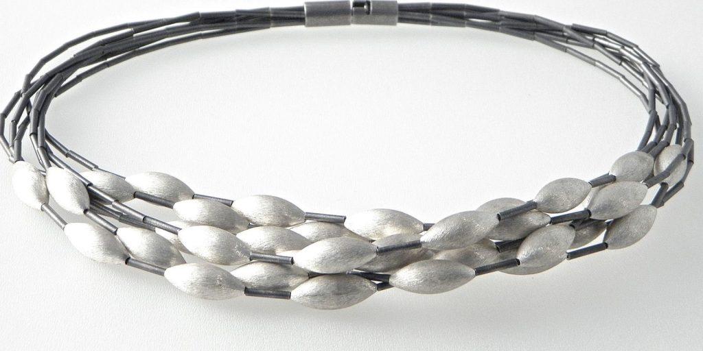 615 - Seven Strand Cone Necklace