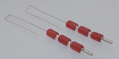 630 - Triple Coral Earrings