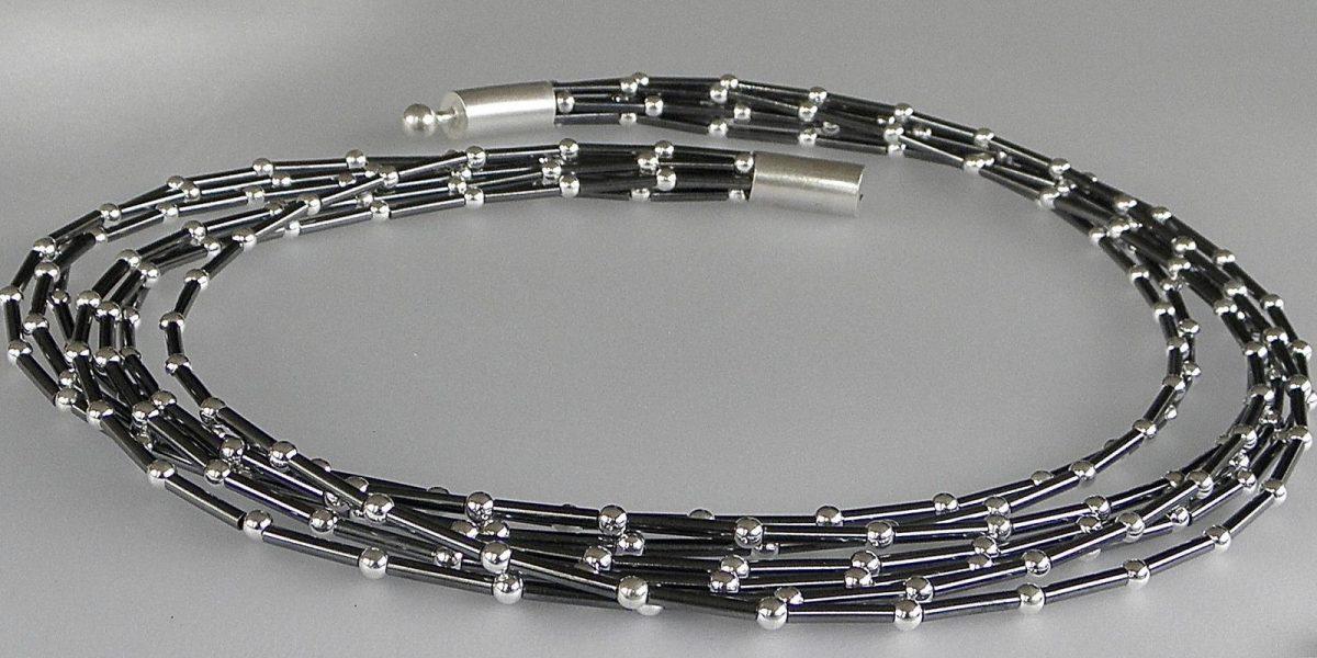 647 - Seven Strand Ball Necklace