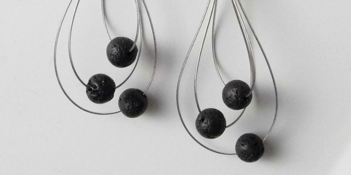 661 Lava Whisk Away Earrings