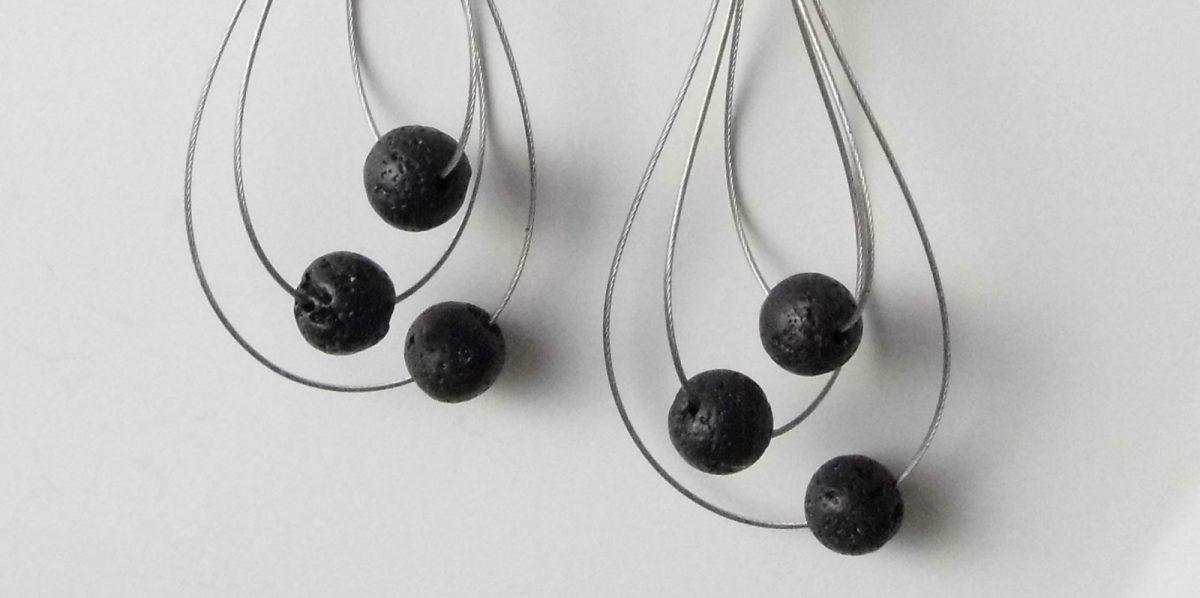 661 Lava Whisk Away Earrings