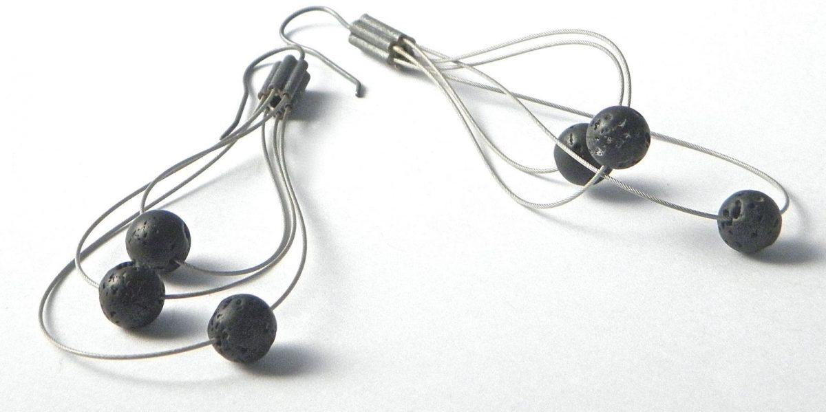 661 - Lava Whisk Away Earrings
