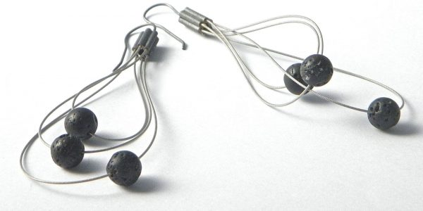 661 - Lava Whisk Away Earrings