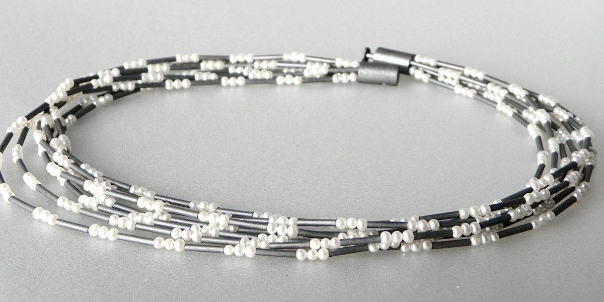 683 - Seven Strand Pearl Necklace