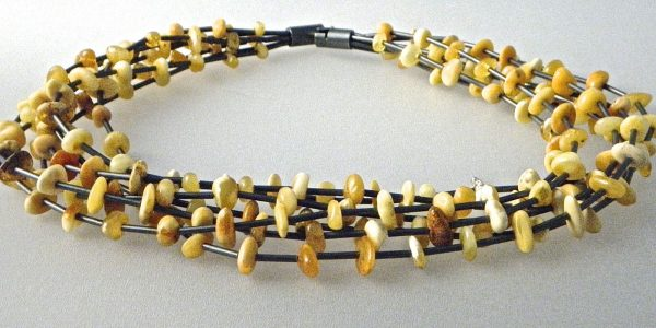 720 - Butterscotch Amber Necklace