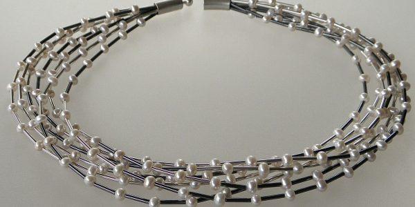 753 - Seven Strand Pearl Necklace