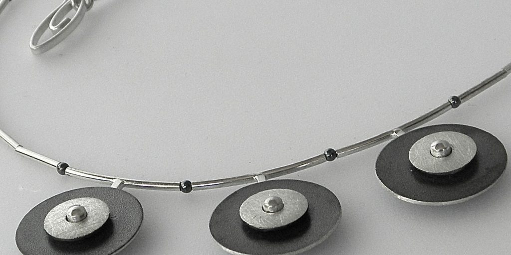 773 - Double Circle Necklace