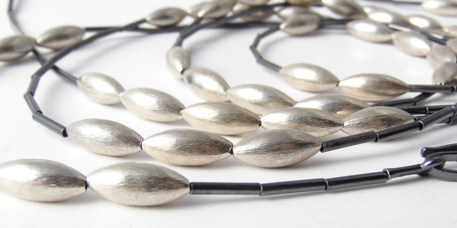 776 Draped Cone Necklace