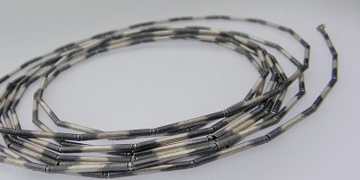 833 - Long Multi Finished Necklace