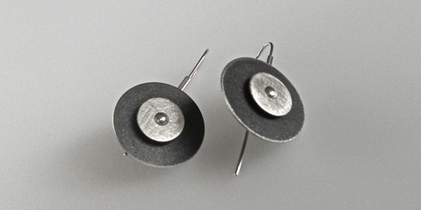 835 - Double Circle Earrings