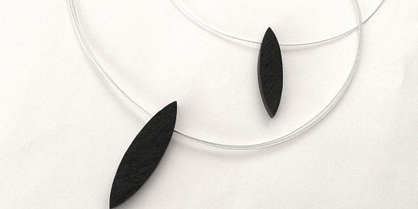 867 - Single Black Jade Pendant