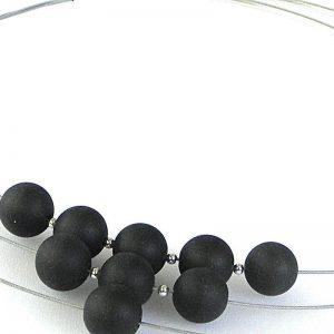 881 Three Strand Jade Necklace