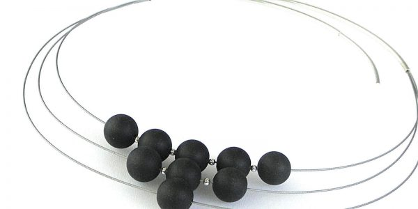 881 - Three Strand Jade Necklace