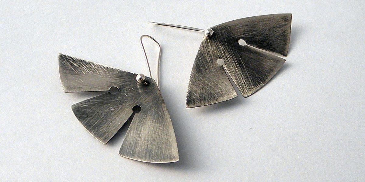 899 - Butterfly Earrings