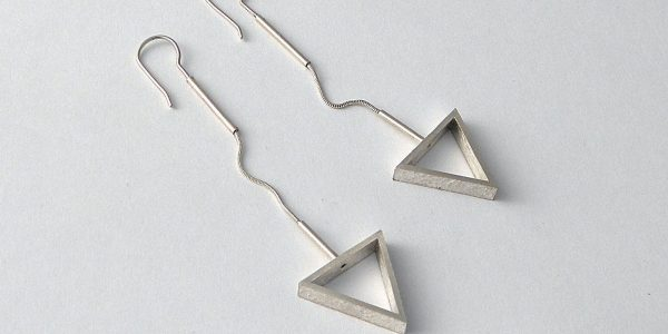 910 - Flexible Triangle Earrings