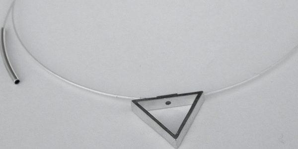 919 - Triagle Pendant